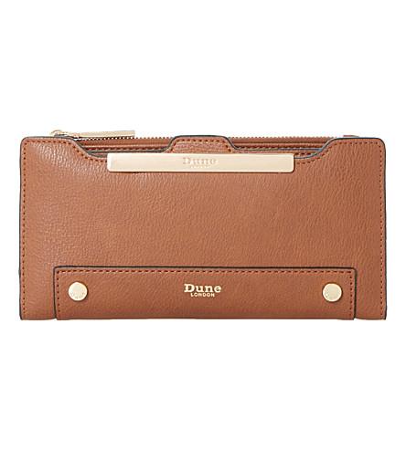 DUNE Kessica leather-look purse (Tan-synthetic