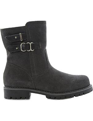 BERTIE Rainstorm suede snow boots