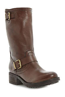 BERTIE Rosamund leather biker boots