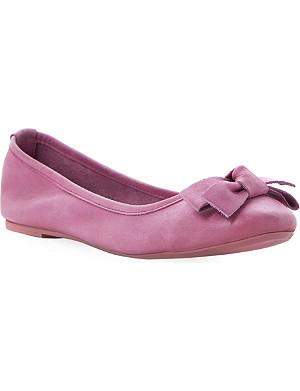 BERTIE Momos pink ballerina shoe