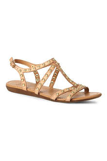 BERTIE Janita leather gladiator sandals