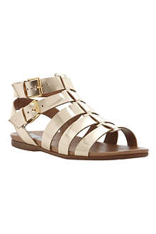 BERTIE Jadie metallic leather gladiator sandals