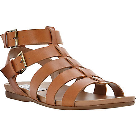 BERTIE Jadie leather Gladiator sandals (Tan-leather