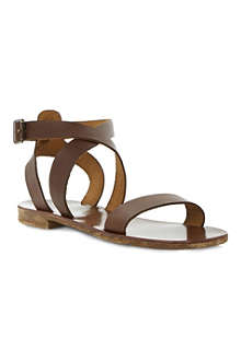 BERTIE Jumpy leather sandals