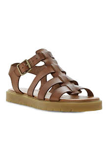 BERTIE Jarny leather sandals