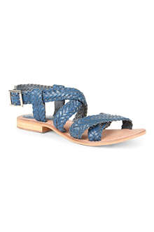 BERTIE Jakko woven leather sandals