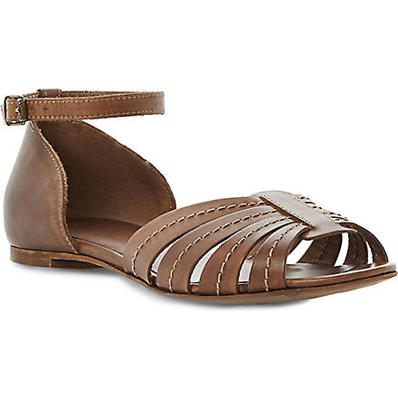 BERTIE Janos leather sandals (Brown-leather