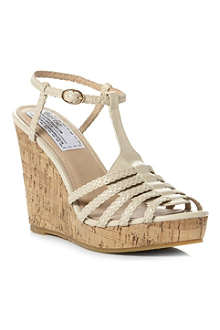 BERTIE Gleen wedge sandals