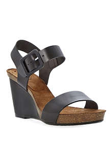 BERTIE Gina wedge heeled sandals