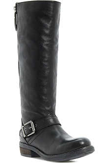 BERTIE Tailor leather knee-high boots