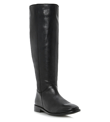 BERTIE Tatler leather riding boots (Black-leather