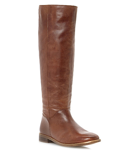 BERTIE Tatler leather riding boots (Tan-leather