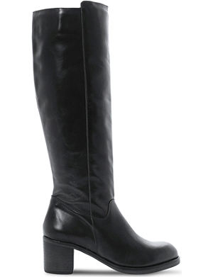 BERTIE Timber knee-high leather boots