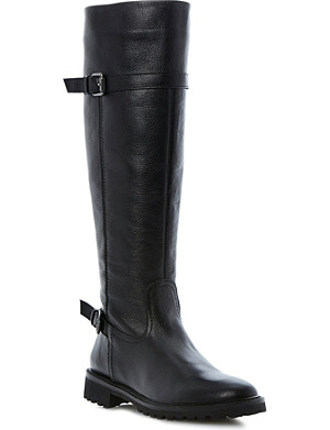BERTIE Thunder leather knee-high boots