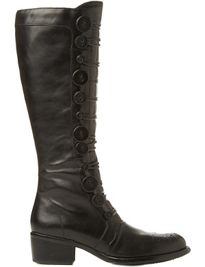 BERTIE Pixie buttoned knee-high boots
