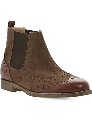 BERTIE Pander leather brogue boot