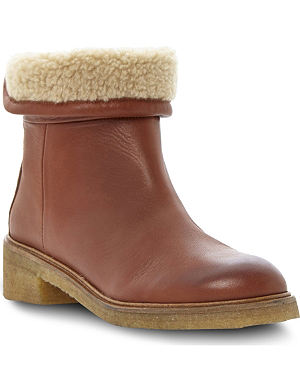 BERTIE Purley leather ankle boots