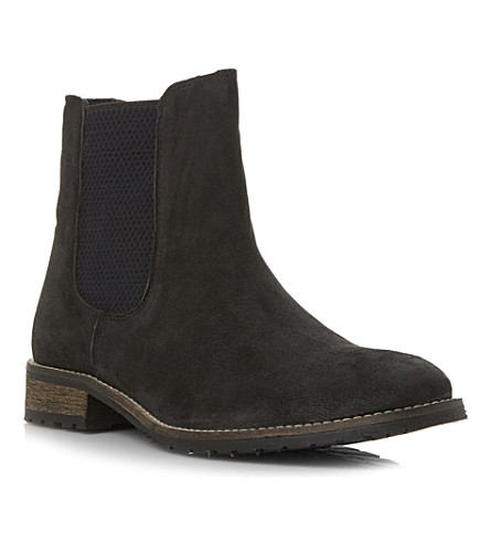 BERTIE Pallas Chelsea boots (Black leather