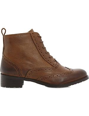 BERTIE Brogue leather boots
