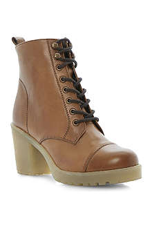 BERTIE Plath leather biker boots