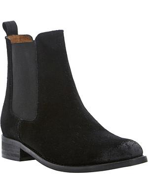 BERTIE Suede Chelsea boots