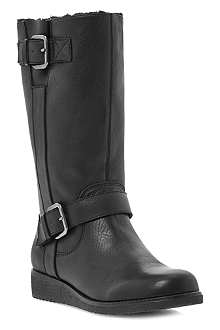 DUNE Rits leather calf boots