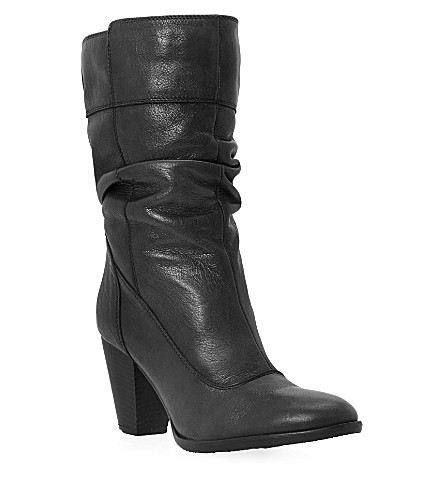 DUNE Rad leather boots (Black-leather