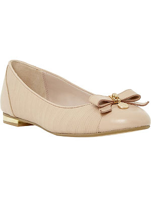 DUNE Montee bow and metal pumps