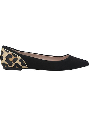 DUNE Hymn pointed-toe flats