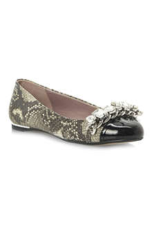 DUNE Mingle rhinestone-embellished pumps