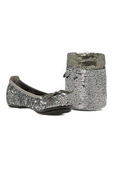 DUNE Manhattan sequin-embellished pumps