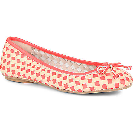 DUNE Minky woven pumps (Multi-leather