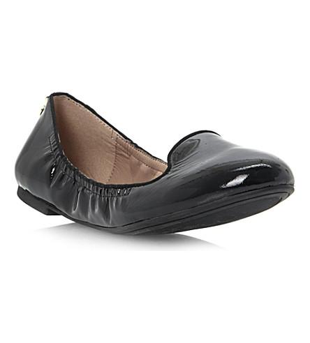 DUNE Elastic patent leather pumps (Black-patent