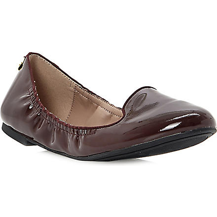 Mexxys patent leather slippers (Burgundy-patent