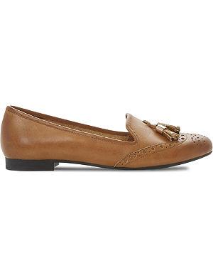 DUNE Loki tassel leather loafers