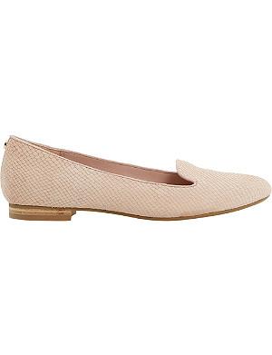 DUNE Limbo leather slipper shoe
