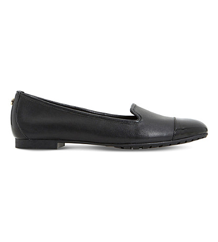 DUNE Geneveve leather pumps (Black-leather
