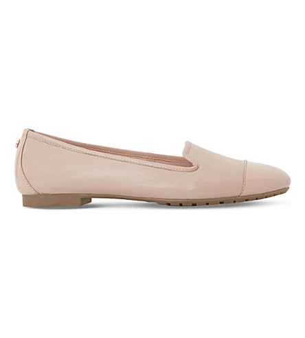 DUNE Geneveve leather pumps (Blush-leather