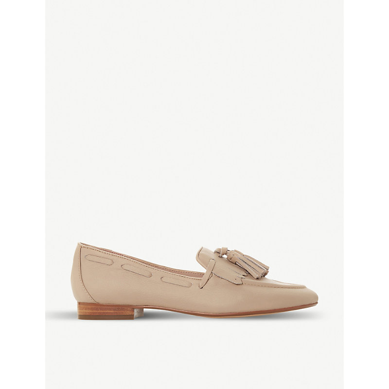 DUNE Gianni leather tassel loafers