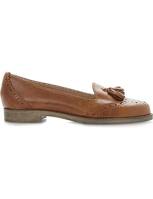 DUNE Lazarus leather tassel loafer