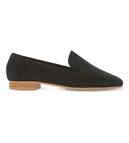 DUNE Glimpse suede loafers