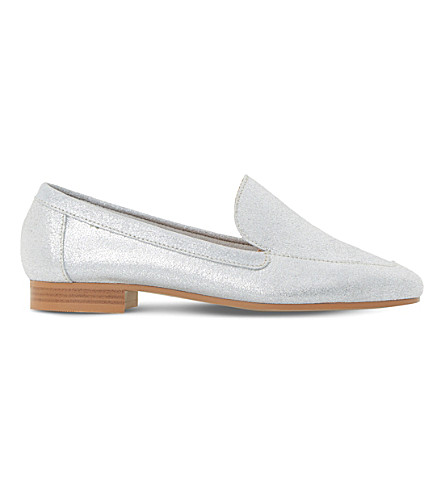 DUNE Glimpse leather loafers