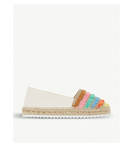 DUNE Glazier slip-on espadrilles (Multi-canvas