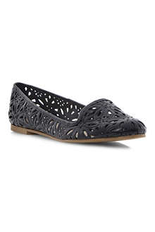 DUNE Londres leather flats
