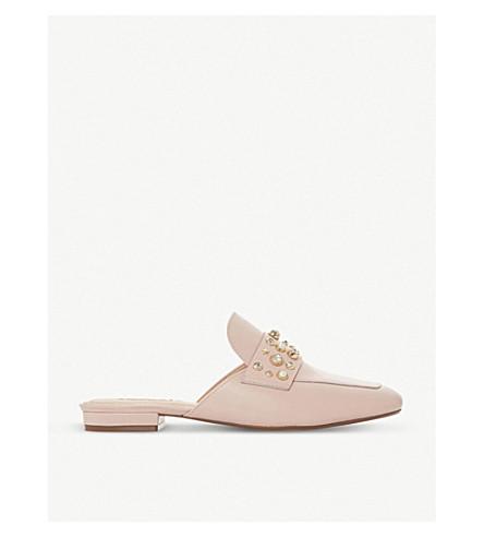 DUNE Gellar embellished slipper-cut mules