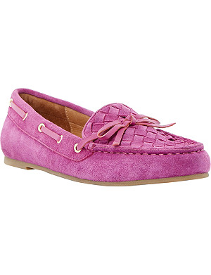 DUNE Glorius suede loafers