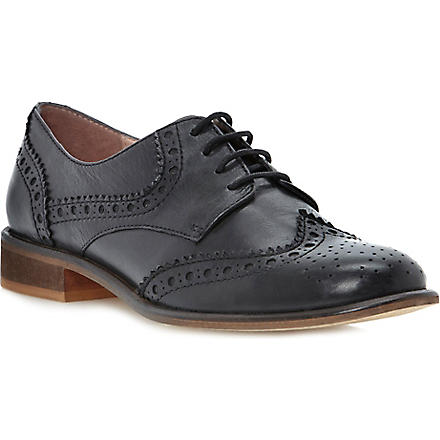 DUNE Langbury leather brogues (Black-leather