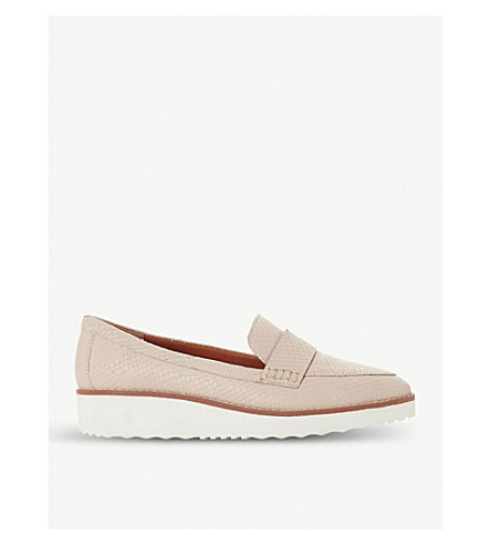 Nude leather 'Gessie' platform loafers free shipping choice deals sale online cheap price outlet classic sale online FLfZR4H