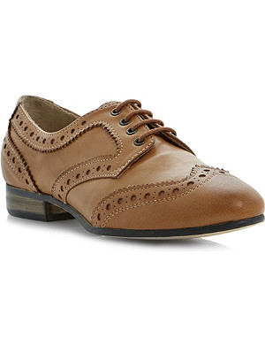 DUNE Linford leather brogues