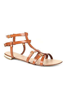 DUNE Jazmine leather gladiator sandals